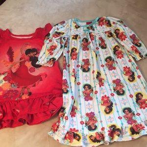 Elena of Avalor nightgown bundle